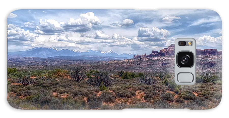 Arches Galaxy S8 Case featuring the photograph Arches Landscape by Joseph Rainey