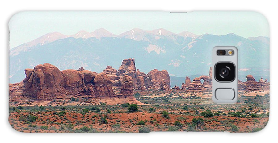 Arches National Park Galaxy S8 Case featuring the photograph Arches National Park 19 by Dawn Amber Hood
