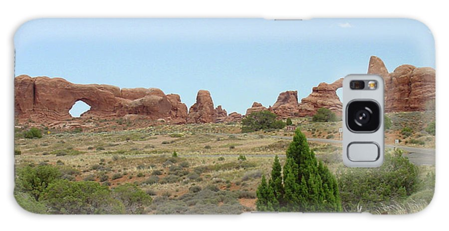 Arches National Park Galaxy S8 Case featuring the photograph Arches National Park 21 by Dawn Amber Hood