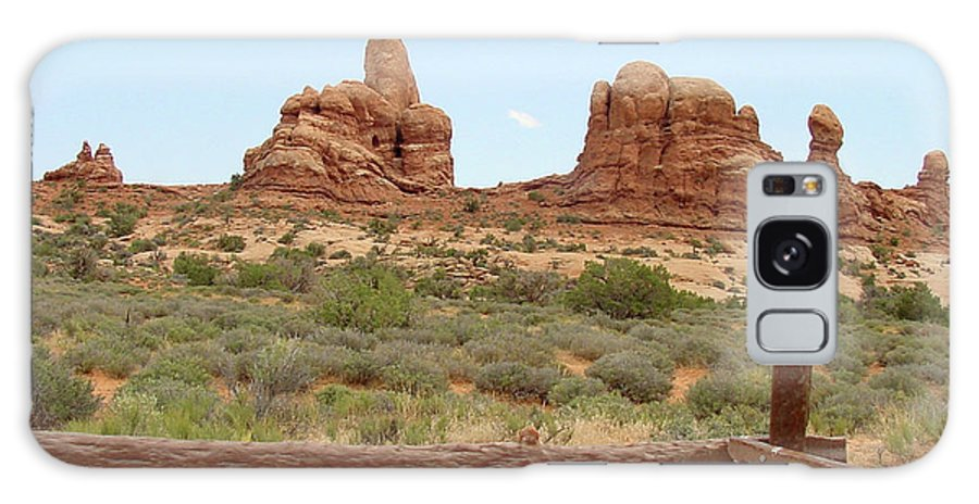 Arches National Park Galaxy S8 Case featuring the photograph Arches National Park 23 by Dawn Amber Hood