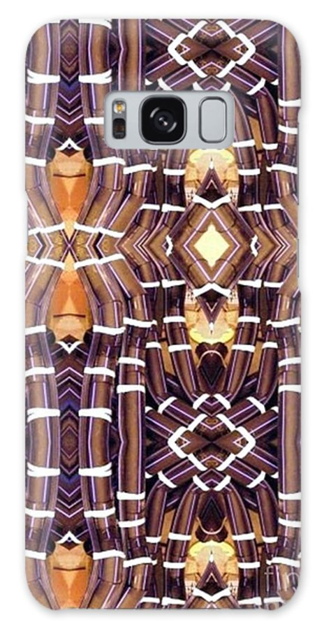 Abstract Galaxy Case featuring the digital art Arctic Pipe by Ron Bissett