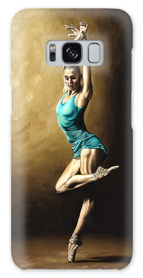 Dance Galaxy S8 Case featuring the painting Ardent Dancer by Richard Young