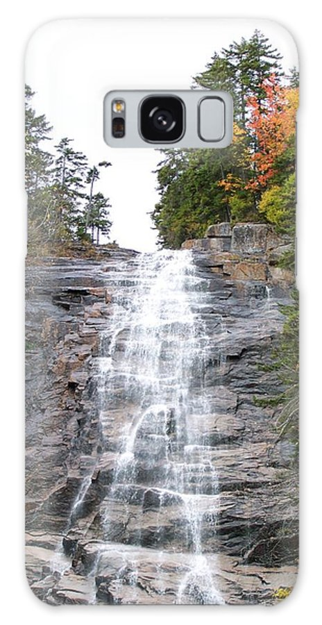 Waterfall Galaxy S8 Case featuring the photograph Arethusa Falls 1 by Erin Rosenblum