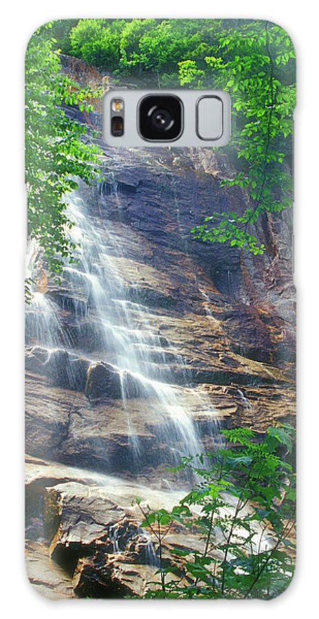 Waterfall Galaxy S8 Case featuring the photograph Arethusa Falls by John Burk