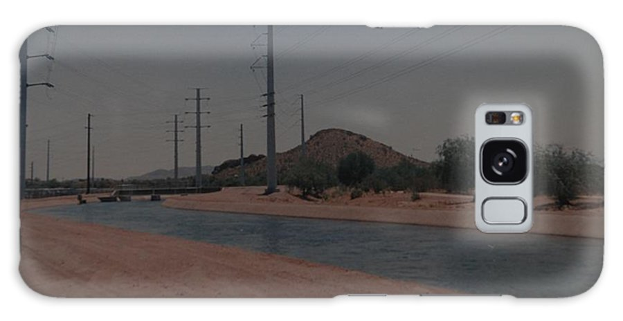 Arizona Galaxy S8 Case featuring the photograph Arizona Waterway by Rob Hans