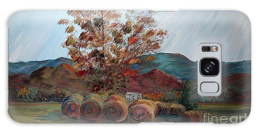 Autumn Galaxy S8 Case featuring the painting Arkansas Autumn by Nadine Rippelmeyer