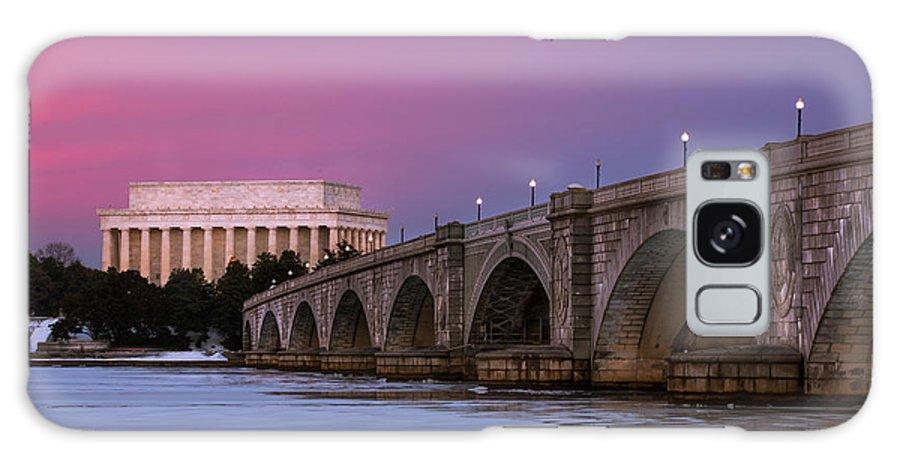 Galaxy S8 Case featuring the photograph Arlington Memorial Bridge by Joshua Lebenson