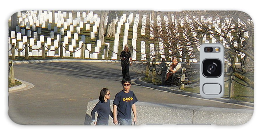 Arlington Galaxy S8 Case featuring the photograph Arlington National Cemetery by Alan Espasandin