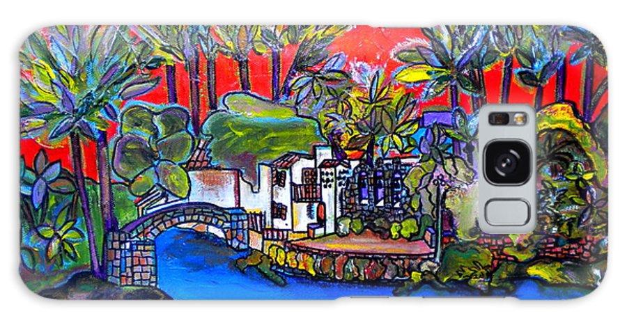 San Antonio Galaxy S8 Case featuring the painting Arneson Theater II by Patti Schermerhorn