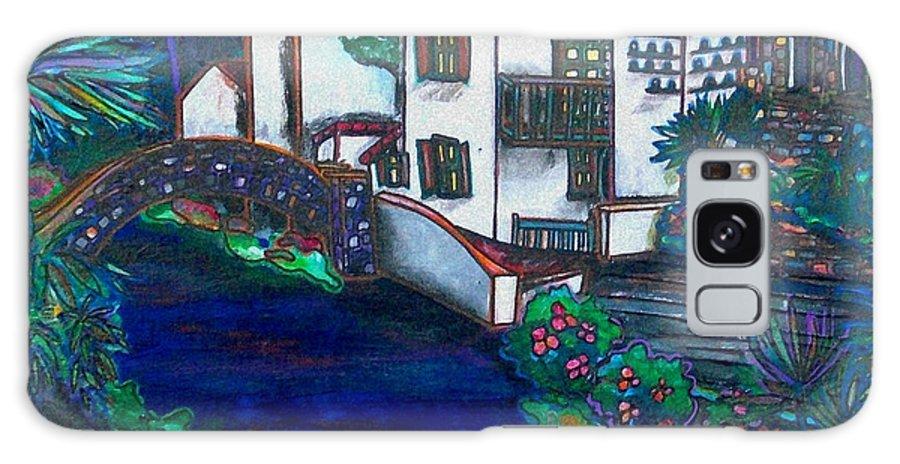 San Antonio Galaxy S8 Case featuring the painting Arneson Theater by Patti Schermerhorn