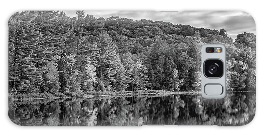 Steve Harrington Galaxy S8 Case featuring the photograph Arrowhead Provincial Park Bw by Steve Harrington