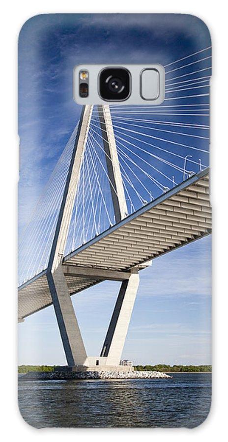 Arthur Ravenel Jr. Bridge Galaxy S8 Case featuring the photograph Arthur Ravenel Jr. Bridge In Charleston South Carolina by Dustin K Ryan