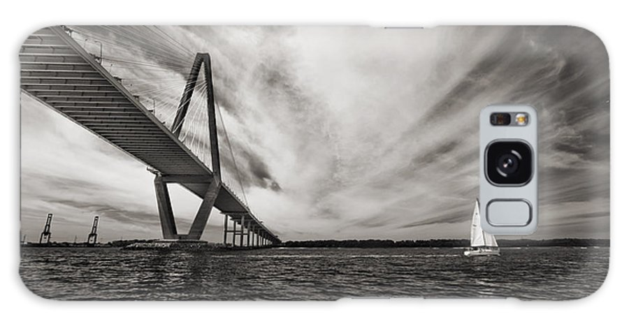 Arthur Ravenel Jr. Bridge Galaxy S8 Case featuring the photograph Arthur Ravenel Jr. Bridge Over The Cooper River by Dustin K Ryan