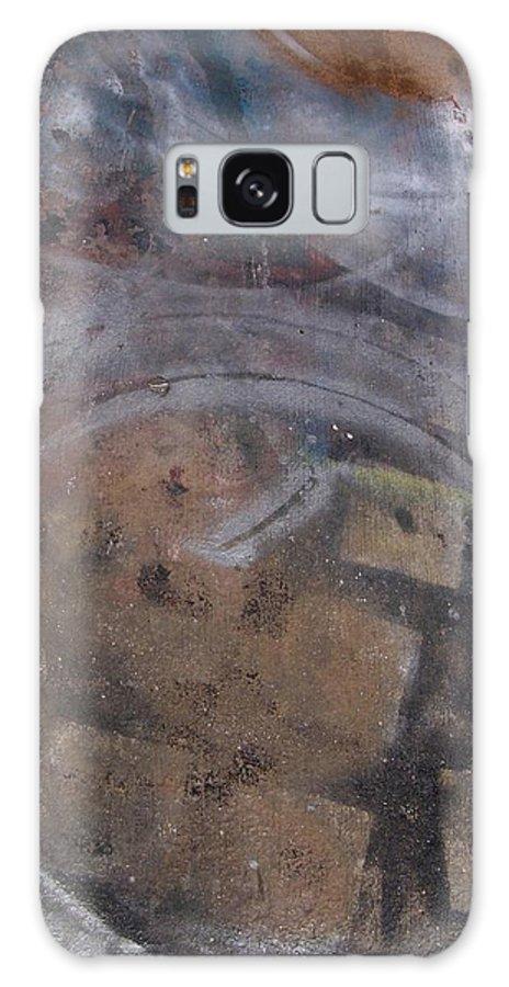 Artist Galaxy S8 Case featuring the photograph Artist Sidewalk 1 by Anita Burgermeister