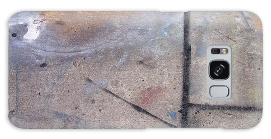 Artist Galaxy S8 Case featuring the photograph Artist Sidewalk 2 by Anita Burgermeister