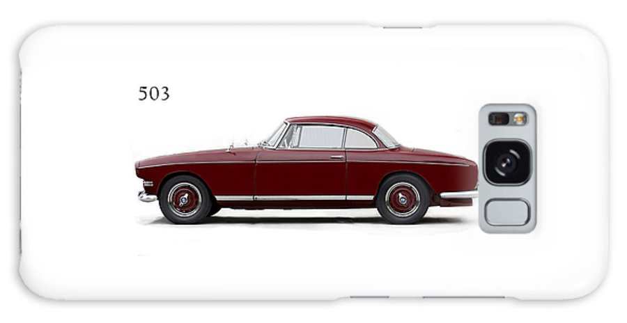Bmw 503 Galaxy S8 Case featuring the photograph Bmw 503 Coupe 1956 by Mark Rogan