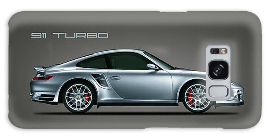 Porsche Galaxy Case featuring the photograph The Iconic 911 Turbo by Mark Rogan