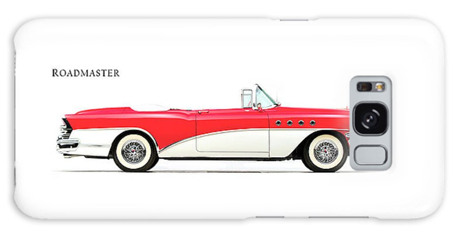 Buick Roadmaster 1955 Galaxy S8 Case featuring the photograph Buick Roadmaster 1955 by Mark Rogan