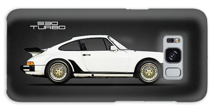 Porsche 911 Turbo Galaxy Case featuring the photograph The Porsche 911 Turbo by Mark Rogan