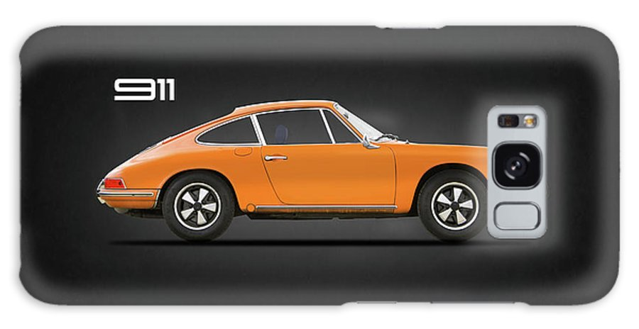 Porsche 911 Turbo Galaxy Case featuring the photograph The 911 1968 by Mark Rogan
