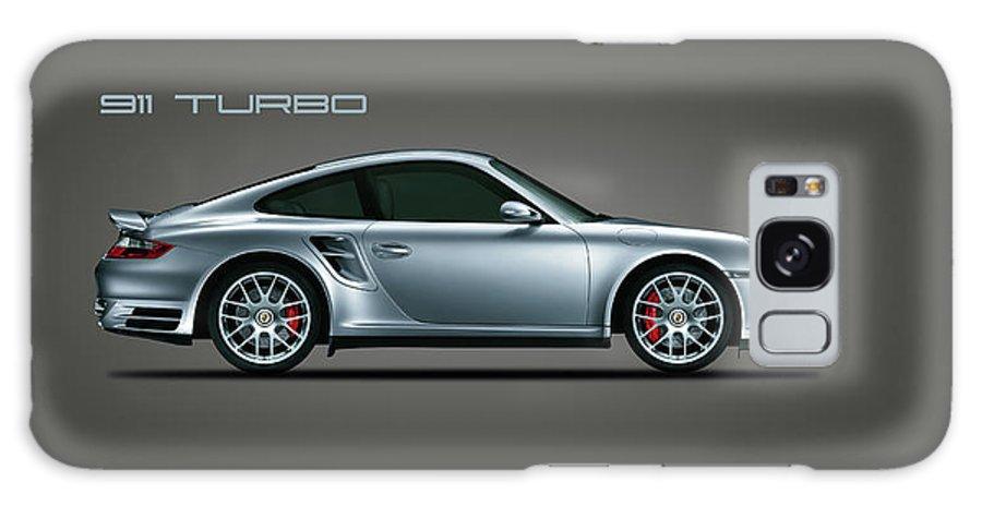 Porsche Phone Case Galaxy Case featuring the photograph 911 Turbo by Mark Rogan