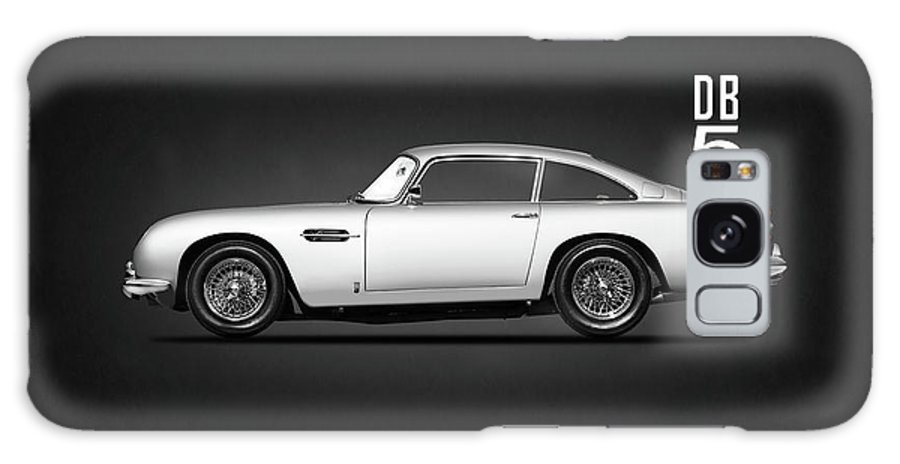 Aston Martin Db5 Galaxy S8 Case featuring the photograph The Db5 by Mark Rogan