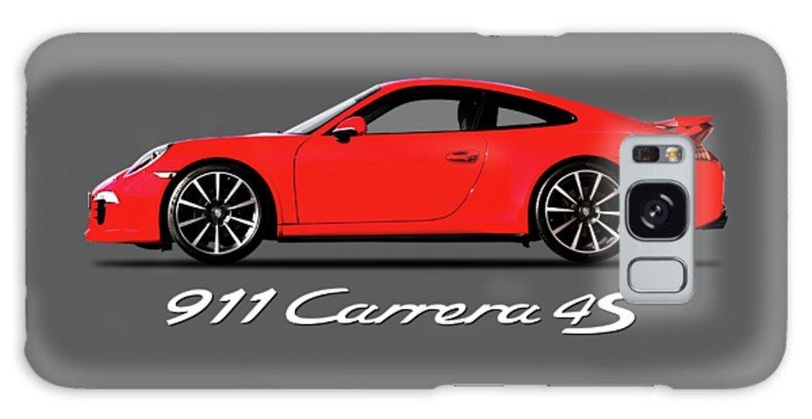 Porsche 911 Carrera 4s Galaxy Case featuring the photograph Porsche 911 Carrera 4S by Mark Rogan