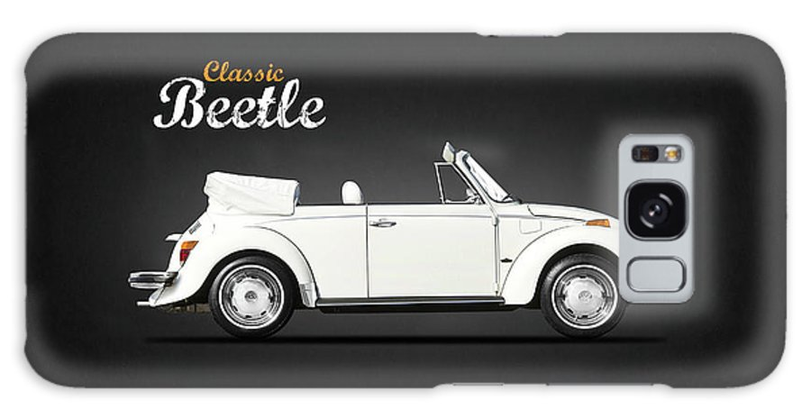 Vw Beetle Galaxy Case featuring the photograph The Classic Beetle by Mark Rogan