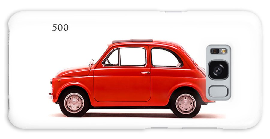 Fiat 500 R 1972 Galaxy S8 Case featuring the photograph Fiat 500 R 1972 by Mark Rogan