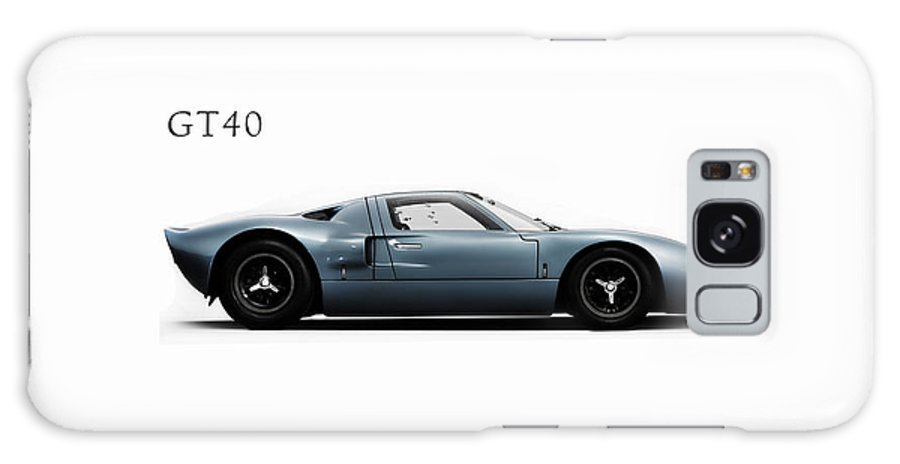 Ford Gt40 Galaxy S8 Case featuring the photograph Ford Gt40 by Mark Rogan