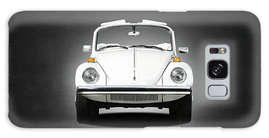 Triple White Super Beetle Galaxy Case featuring the photograph Volkswagen Beetle by Mark Rogan