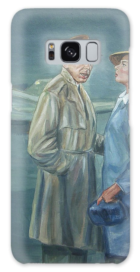 Casablanca Galaxy S8 Case featuring the painting As Time Goes By by Bryan Bustard