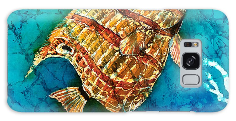 Beaked Butterflyfish Galaxy S8 Case featuring the painting Ascending by Sue Duda