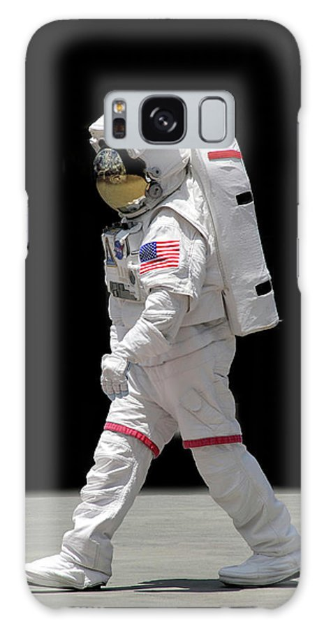 Apollo Galaxy S8 Case featuring the photograph Astronaut by Francesa Miller