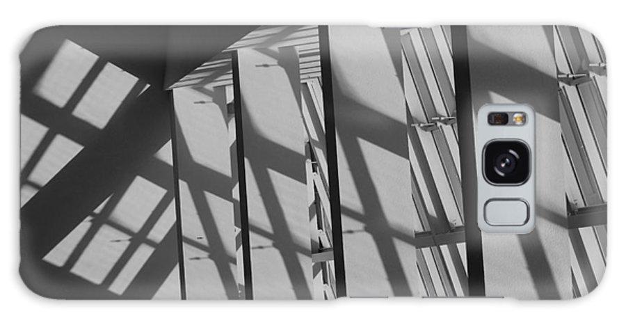 Shades Galaxy S8 Case featuring the photograph Asylum Windows by Rob Hans
