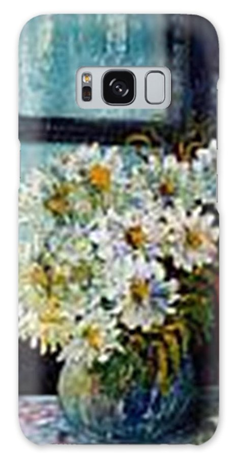 By The Window Galaxy Case featuring the painting At Home by Carol P Kingsley