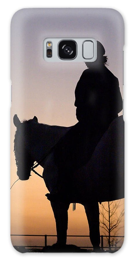 Horse Galaxy S8 Case featuring the photograph At The End Of The Day by Tracey Beer