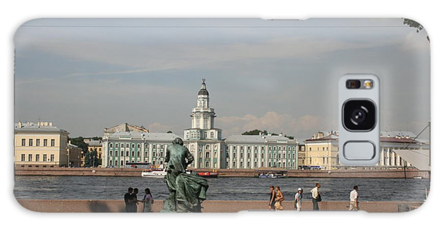 River Galaxy S8 Case featuring the photograph At The Newa - St. Petersburg Russia by Christiane Schulze Art And Photography