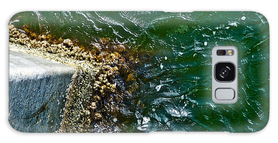 Ocean Galaxy S8 Case featuring the photograph At The Pier by Jennifer Kelly