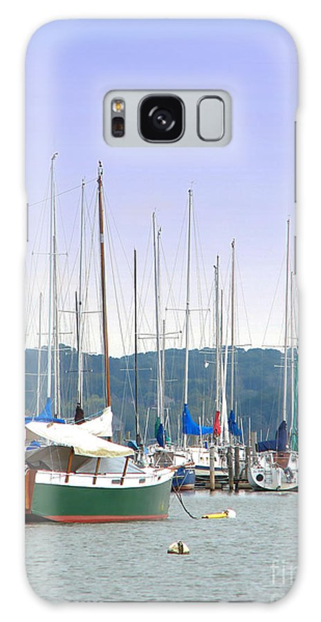 Seascape Galaxy S8 Case featuring the photograph At The Yacht Club by Todd Blanchard