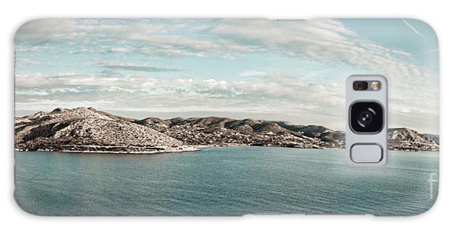 Greece Galaxy S8 Case featuring the photograph Atikki Shores by Gabriela Insuratelu