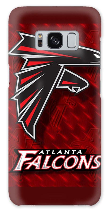 Atlanta Falcons Galaxy S8 Case featuring the photograph Atlanta Falcons by Mitro Dente