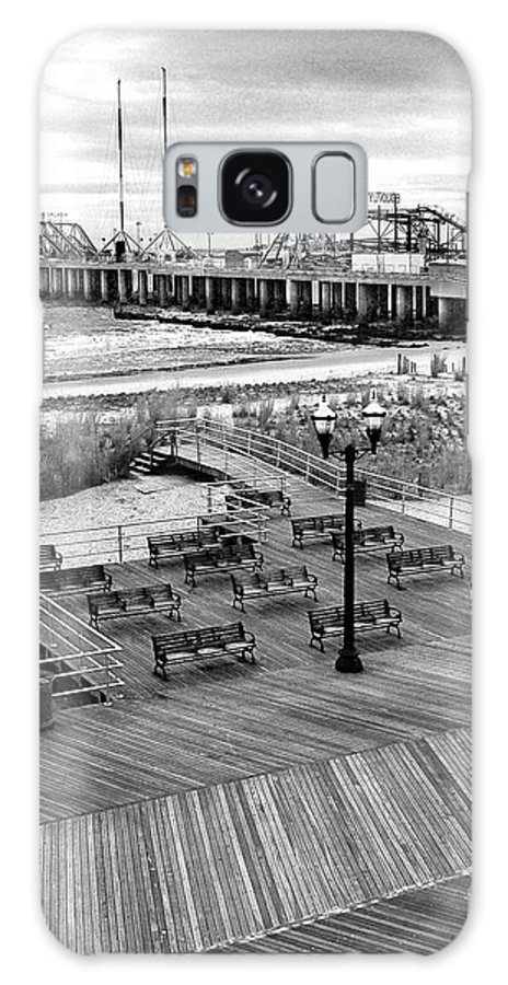 Bradley Galaxy S8 Case featuring the photograph Atlantic City Boardwalk by Rich Despins