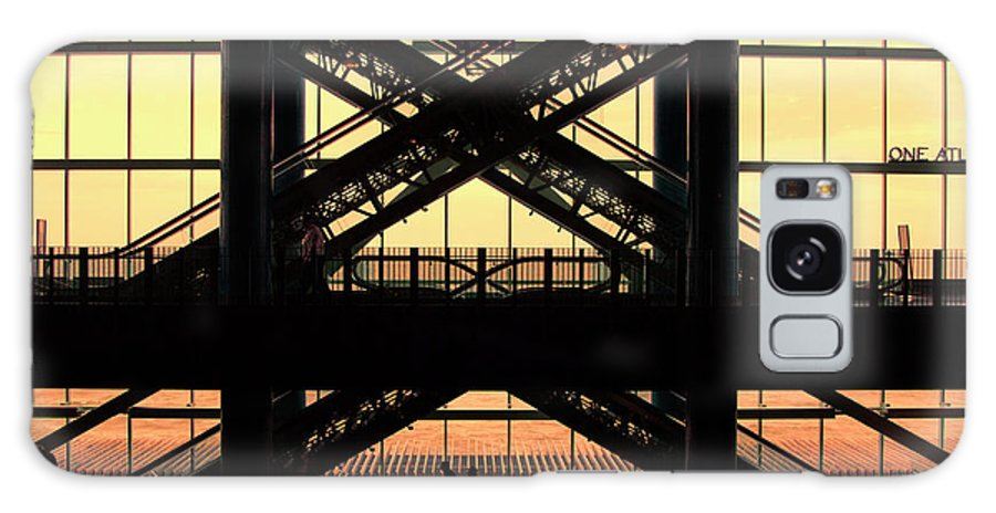 Atlantic City Galaxy S8 Case featuring the photograph Atlantic City Mall Escalators by Chuck Kuhn