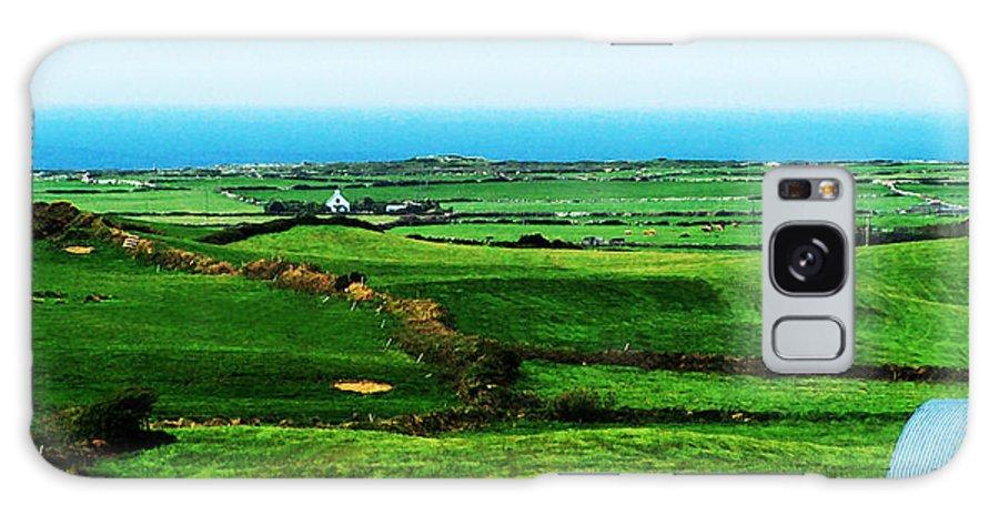 Ireland Galaxy Case featuring the photograph Atlantic View Doolin Ireland by Teresa Mucha