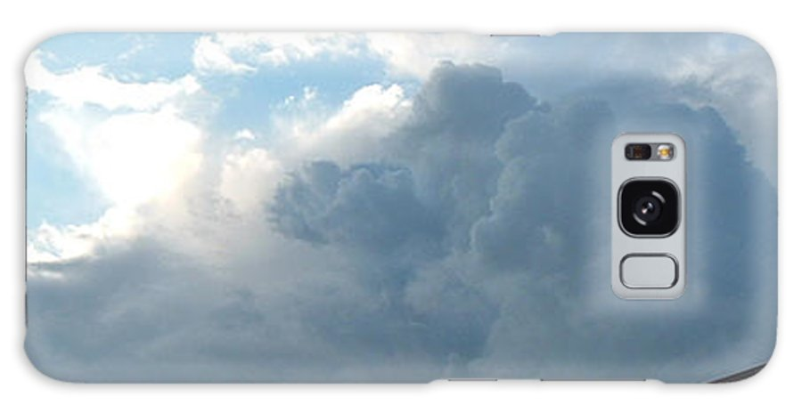 Sky Galaxy S8 Case featuring the photograph Atmospheric Barcode 19 7 2008 16 by Donald Burroughs