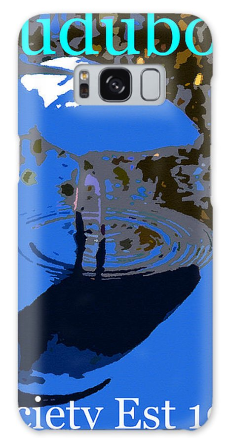 Audubon Society Galaxy S8 Case featuring the painting Audubon Ibis Reflection by David Lee Thompson