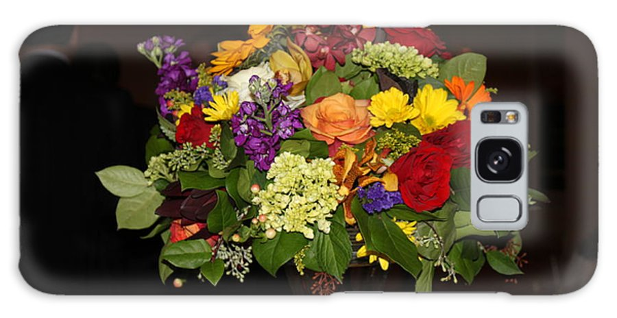Flowers Galaxy S8 Case featuring the photograph August Bouquet by Lyn Vic