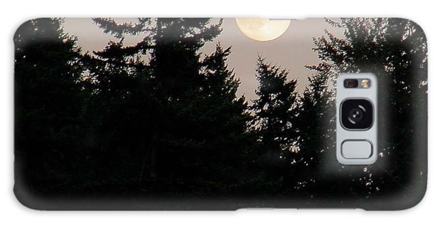 August Galaxy S8 Case featuring the photograph August Full Moon - 1 by Shirley Heyn