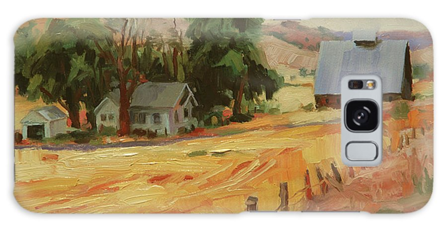 Country Galaxy S8 Case featuring the painting August by Steve Henderson